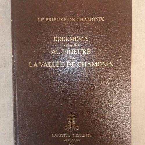PERRIN (André). Documents relatifs au Prieuré et à la Vallée de Chamonix. Marsei…