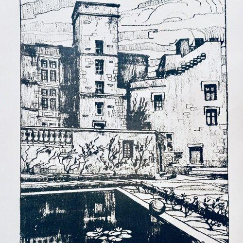 VARILLE (Mathieu). Lourmarin, illustré par Henri Montagné. Lyon (Audin), Edition…