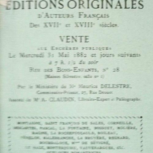 CLAUDIN (Anatole). Cabinet de Feu M. A. Rochebilière, Ancien Conservateur à la B…