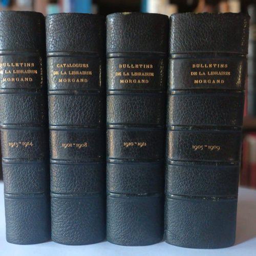 LIBRAIRIE MORGAND [RAHIR]. Bulletin Mensuel de la Librairie Damascène Morgand. P…