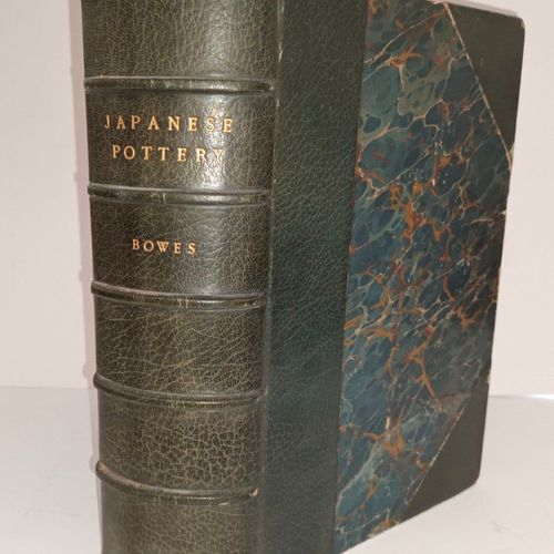 BOWES (James) JAPANESE POTTERY, with notes describing the thoughts and subjets e…