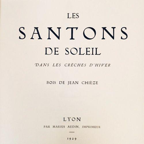 VARILLE (Mathieu). Les Santons de Soleil dans les Crèches d'Hiver. Lyon, Audin, …