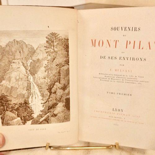 MULSANT (Etienne) Souvenirs du Mont Pilat et de ses environs.. Lyon, Imprimerie …