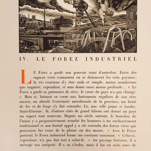 CHASTEL (Guy). Le Forez. Illustrations de Jean Chièze. Saint Félicien en Vivarai…