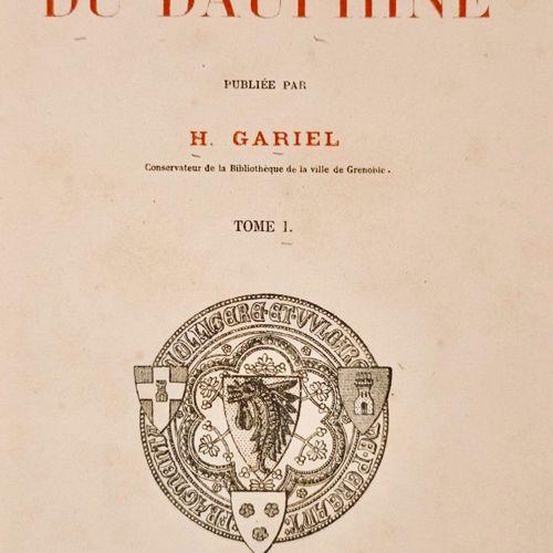ALLARD (Huy) et GARIEL (Hyacinthe). Bibliothèque du Dauphiné. Œuvres diverses de…