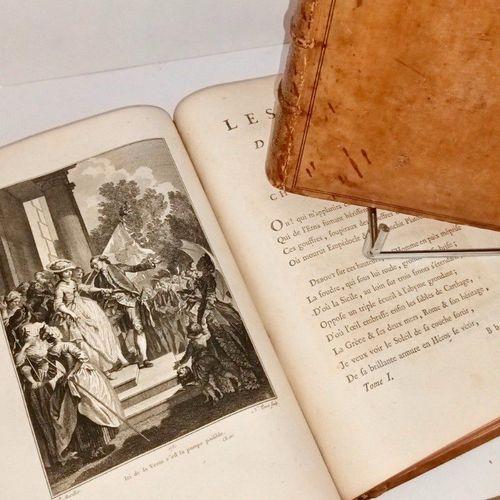 ROUCHER Les Mois, Poème en Douze Chants A Paris, de l'Imprimerie de Quillau, 177…