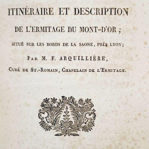 ARQUILLIERE (L'Abbé François). Chemin du Désert ou Itinéraire et description de …