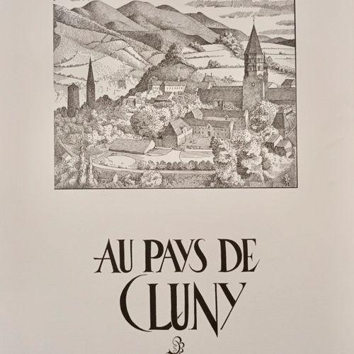 BOUILLOT (Michel. Au Pays de Cluny. Imprimé à Macon, Contrario, vers 1970. In fo…