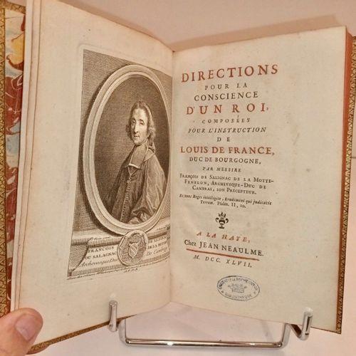 FENELON (François de Salignac de la Motte) Directions pour la conscience d'un Ro…