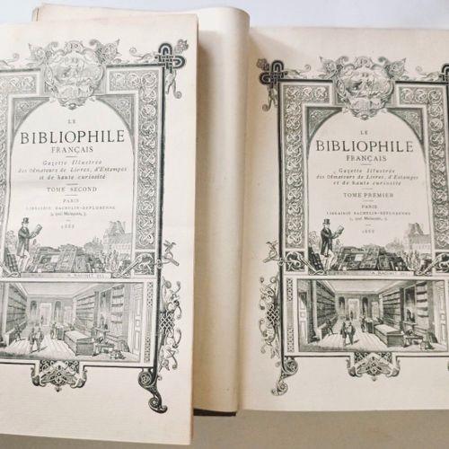 FIRMIN DIDOT (Ambroise), LACROIX (Paul), etc. Le bibliophile français. Gazette i…