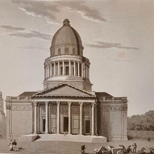 (PARIS) MARLES (J. De) Paris ancien et moderne... Paris, 1837 38. 3 volumes de t…