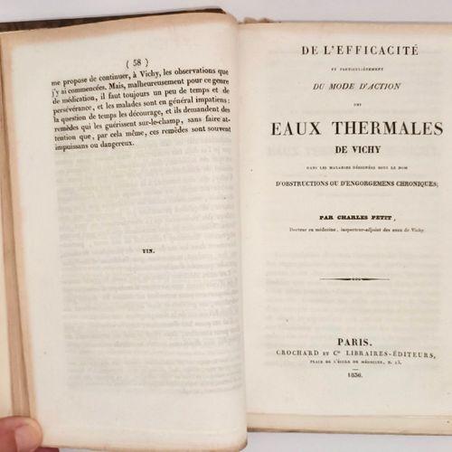 BOURBONNAIS VICHY. Recueil de 6 textes sur les eaux thermales et minérales de Vi…