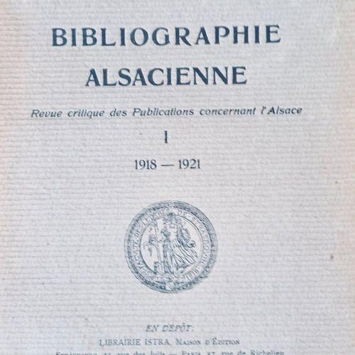 Bibliographie ALSACIENNE. Revue crituqe des Publications concernant l'Alsace.. S…