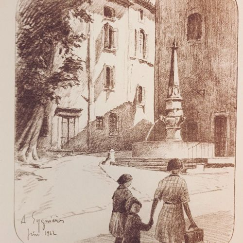 MAURRAS (Charles) & DREVET (Joanny). Paysages Mistraliens. Grenoble, Didier & Ri…
