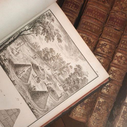 DIDEROT & D'ALEMBERT ENCYCLOPÉDIE OU DICTIONNAIRE RAISONNÉ DES SCIENCES, des Art…