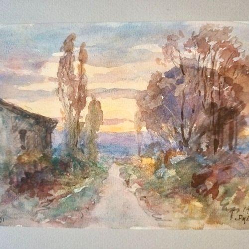 DREVET (Joannès). Souvenirs. 1854 1934. Illustrés de croquis, dessins, eaux fort…
