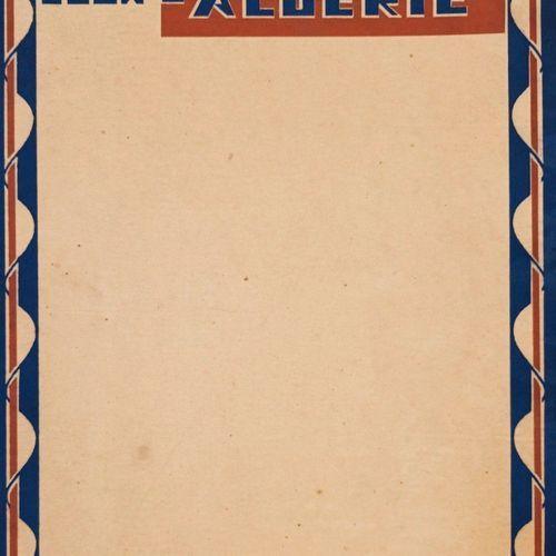 """DUCHENE (Ferdinand). """"Ceux d'Algérie. Illustrations de Roger Irriéra"""". Paris, Ed…"""