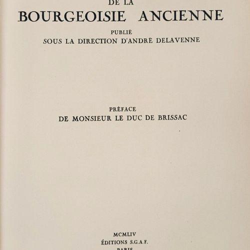 DELAVENNE (André) Recueil Généalogique de la Bourgeoisie ancienne, publié sous l…