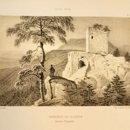 (Alsace) Musée pittoresque et historique de l'ALSACE. Dessins et illustrations p…