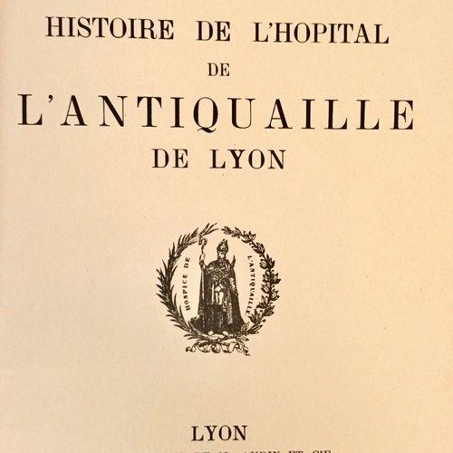 """CROZE (Auguste), COLLY, CARLE, LACASSAGNE (Jean). """"Histoire de l'Antiquaille"""". L…"""