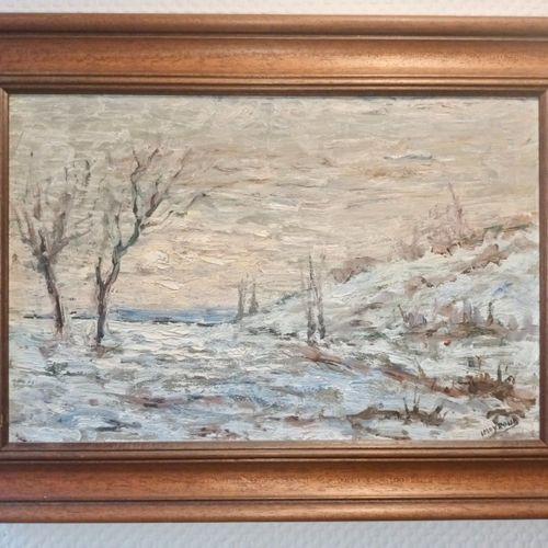 DAUPHINE TERRES FROIDES MOYROUD (L) Peintre Dauphinois ayant exercé première moi…
