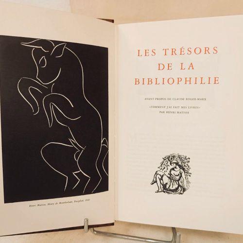 MARX (Claude Roger). Les trésors de la bibliophilie. Avant propos de Claude Roge…
