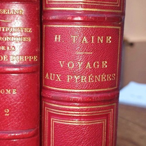 TAINE. Hippolyte . Voyage aux Pyrénées. Paris. Hachette. 1873. 1 volume in 8, de…