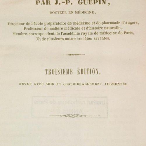 GUÉPIN (Jean Baptiste). Flore de Maine et Loire. Troisième édition, revue et con…