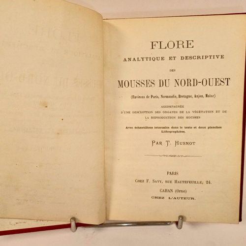 (Normandie) HUSNOT (T) FLORE analytique et descriptive des MOUSSES DU NORD OUEST…