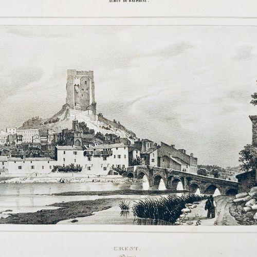 CASSIEN (Victor) et DEBELLE (Alexandre). Album du Dauphiné ou recueil de dessins…