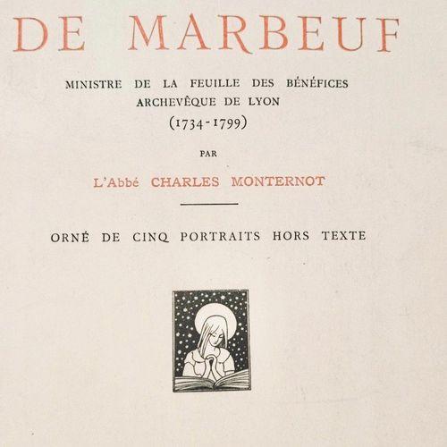 (Révolution Française) MONTERNOT (Charles) Yves Alexandre de MARBEAUF, Ministre …