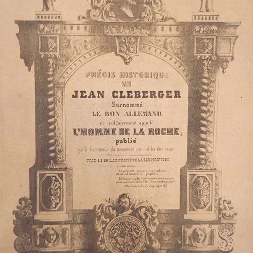 MARNAS (Jean). Précis Historique sur Jean Cléberger surnommé Le Bon Allemand, et…