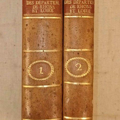ALLEON DULAC (Jean Louis). Mémoires pour servir à l'histoire naturelle des provi…