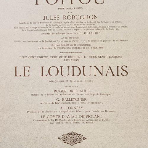 (Photographie) POITOU VENDEE. ROBUCHON (Jules) Paysages et Monuments du POITOU. …