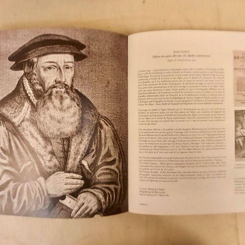 PERRET (Jacques). Regards sur les Alpes. 100 livres d'exception, 1515 1908. In 4…