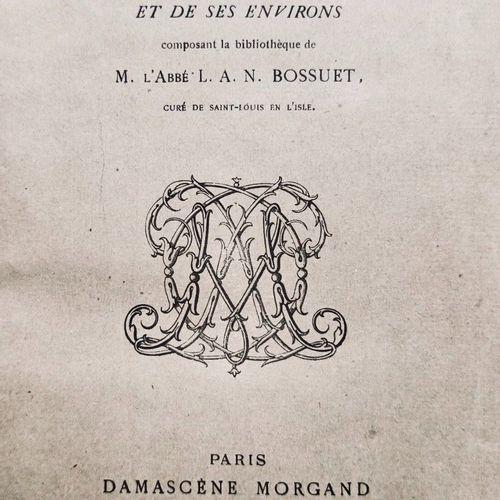 MORGAND (Damascène). Catalogue des livres relatifs à l'histoire de la Ville de P…