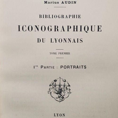 AUDIN (Marius). Bibliographie iconographique du Lyonnais. Lyon, Rey, 1909 1913. …