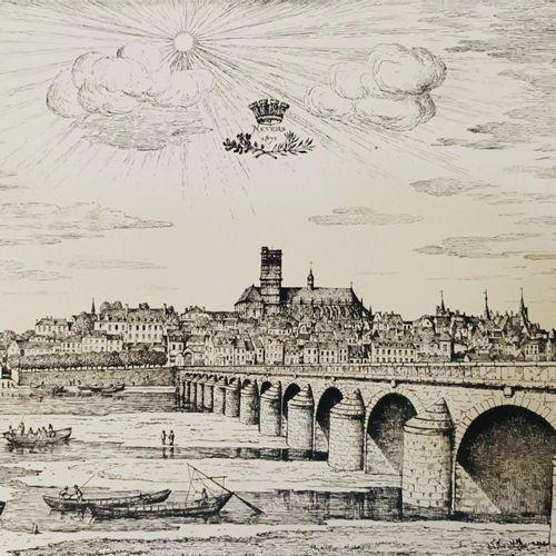 JULLIEN, Amédée. La Nièvre à travers le passé. Topographie historique de ses pr…