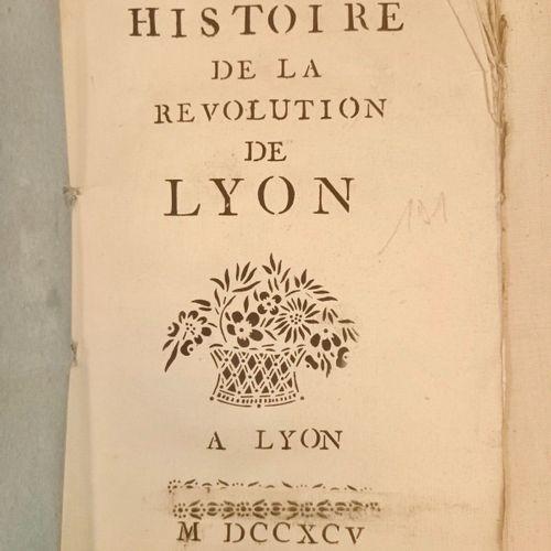 GUERRE DUMOLARD (Jean). Histoire de la Révolution de Lyon [journée du 29 mai 179…