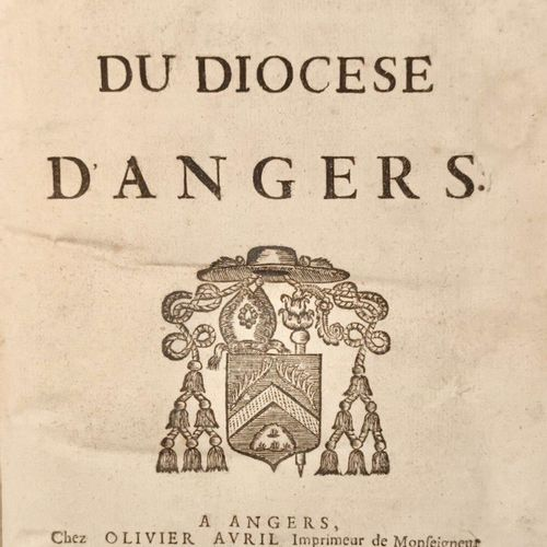 (ARNAULD, Henry) Statuts du diocèses d'ANGERS...Relié avec: Instructions de S.…