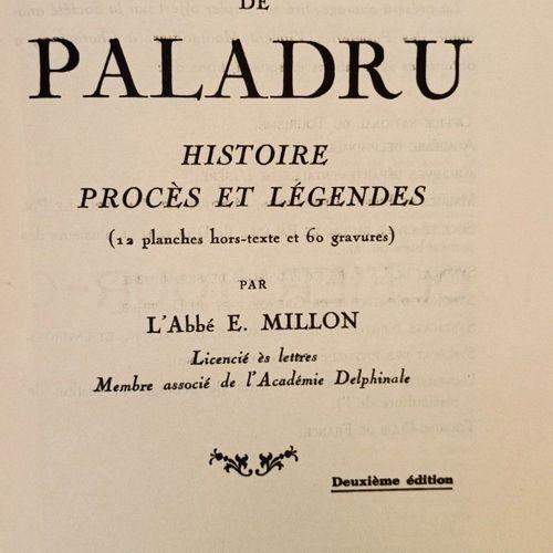 MILLON (L'Abbé E.). Le Lac de Paladru (1). Histoire Procès et Légendes (12 planc…