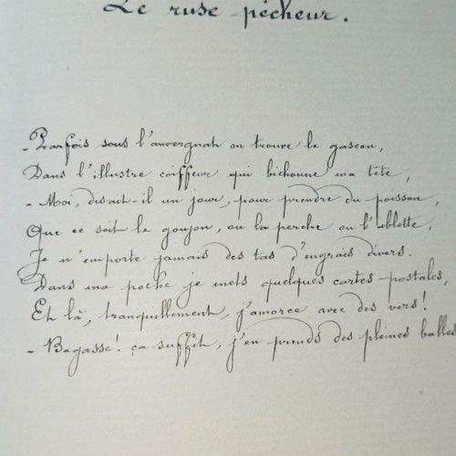 MANUSCRIT]. FUGERE (Gme dit Mami Grenouille, Lyonnais). Mes Equevilles. Toquades…