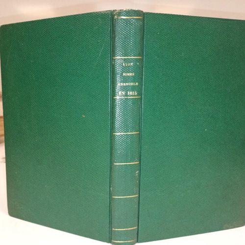 COCHARD, … Recueil de 6 pièces sur les évènements de 1790 ou 1815, à Lyon, Nîmes…