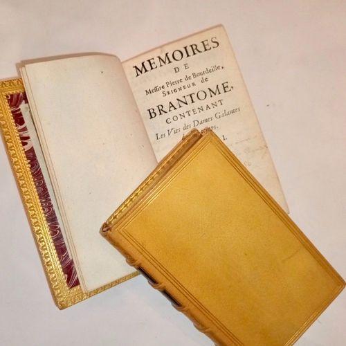 BRANTOME. Mémoires de Messire Pierre de Bourdeille, Seigneur de Brantome, conten…