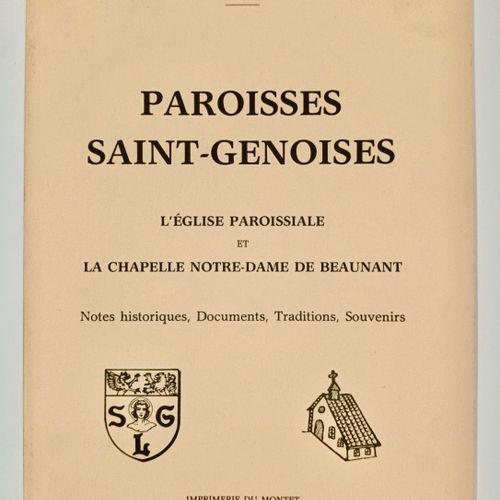 CARTELLIER (Joseph) Paroisses Saint Genoises... L'Eglise Paroissiale et la Chape…