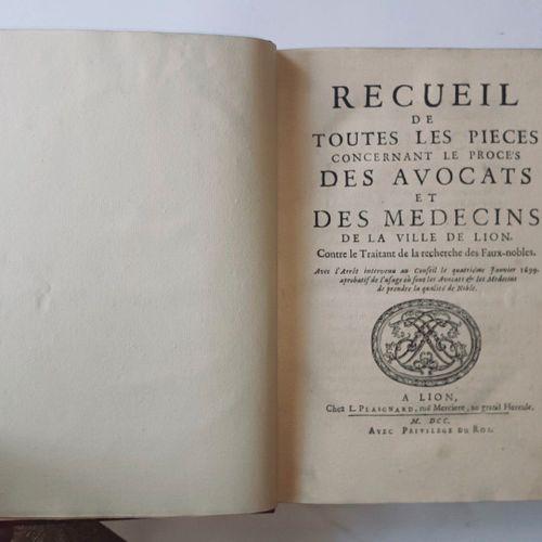 BEAUVAL (Charles de Lacour de]. Recueil de toutes les pièces concernant le procè…