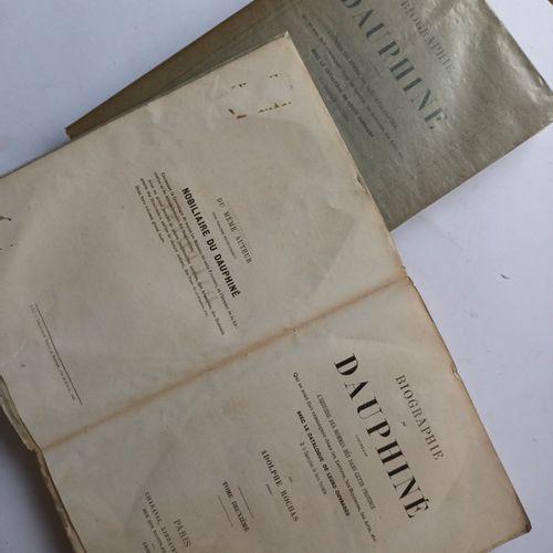 ROCHAS (Adolphe). Biographie du Dauphiné contenant l'Histoire des Hommes nés dan…