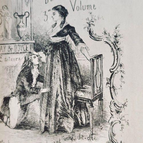 (CURIOSA) DESFORGES (CHOUDARD Jean Baptiste, dit). Le Poète, ou Mémoires d'un ho…