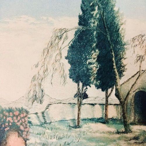 (PROVENCE) VAUDOYER (Jean Louis) Beautés de la PROVENCE. Pages choisies. Illustr…