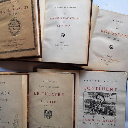 AUDIN (Marius) et divers. La collection des Amis du Vieux Lyon. Lyon, Cumin et M…